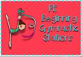 Beginning Gymnastic Stations