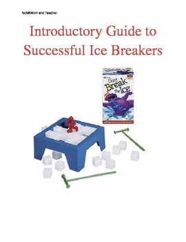 Beginning Ice Breakers Guide