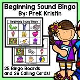 Beginning (Initial) Letter Sound Bingo