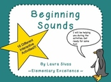 Initial/Beginning Sounds INTERACTIVE Smartboard Lesson & A