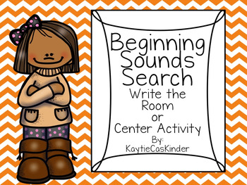 Beginning/Initial Sounds Search