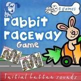 Rabbit Raceway Phonics Letter Sound Games