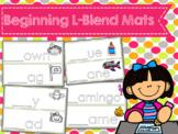 Beginning L-Blend Word Work Mats