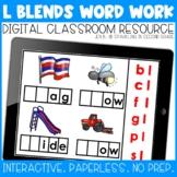 Beginning L-Blends Digital Word Work