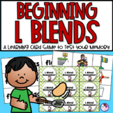 Beginning L Blends Memory Game