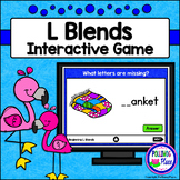 Beginning L Blends Phonics Game for PowerPoint