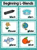Beginning L Blends Word Sorts and Posters