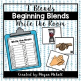 Beginning L Blends-Write the Room Activity