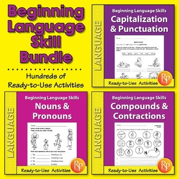 Beginning Language Skills {Bundle}