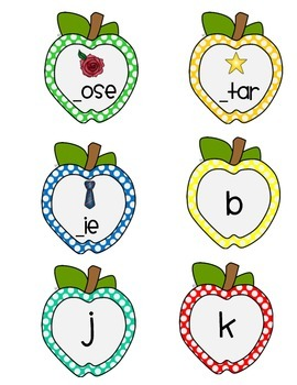 Beginning Letter Match; Letter Fluency