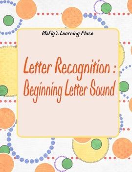 Beginning Letter Sound Activity