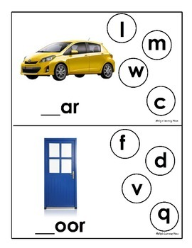 Beginning Letter Sound Activity