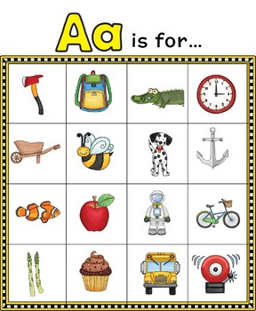 Beginning Letter Sound Activity Sheets