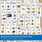 Beginning Letter Sound Phonics Cards