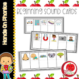 Beginning Letter Sound Cards