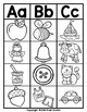 Beginning Letter Sound Clip Cards