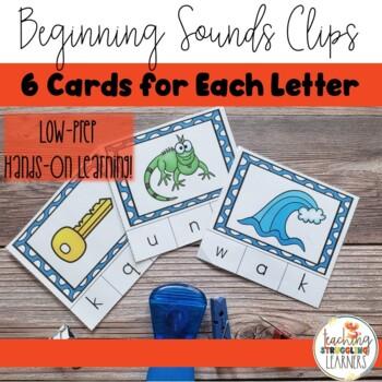 Beginning Letter Sound Clips