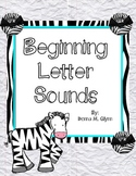 Beginning Letter Sound Find / Excellent for RTI
