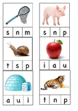 Beginning Letter/Sound Match S,A,T,P,I,N