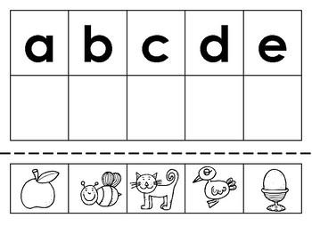 Beginning Letter Sound Matching