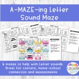 Beginning Letter Sound Mazes