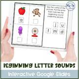 Beginning Letter Sound Activities, includes DIGITAL MATERIALS!