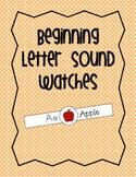 Beginning Letter Sound Watches