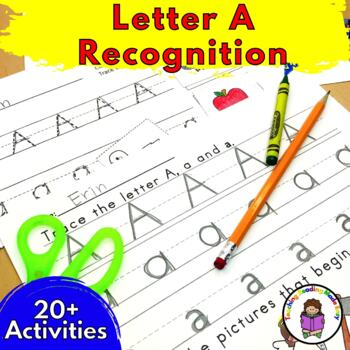 Beginning Letter Sound Worksheets & Activities:  Letter A