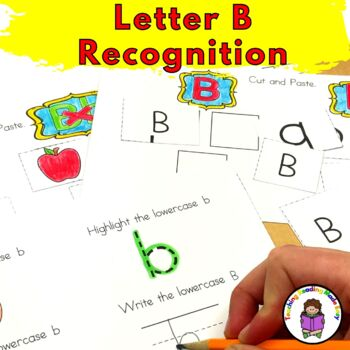 Letter B -Letter of the Week: 15 Beginning Letter Sound Activities