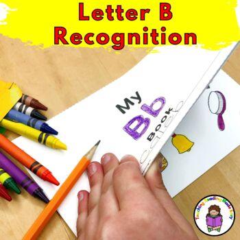 Letter B Worksheets & Activities-15 Letter of Week B Worksheets for Kindergarten