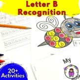 Letter B Worksheets-15 Letter B Activities for  Kindergarten