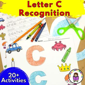 Beginning Letter Sound Worksheets & Activities: Letter C