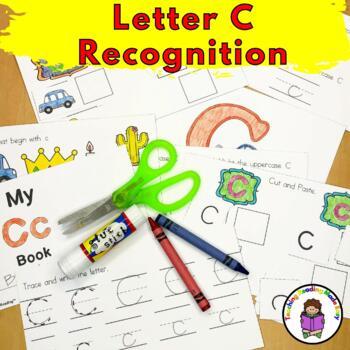 Letter C Worksheets & Activities-15 Letter of Week C Worksheets for Kindergarten