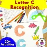 Letter C Worksheets-15 Beginning Sound Letter of the Week C Alphabet Activities