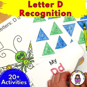 Beginning Letter Sound Worksheets & Activities: Letter D