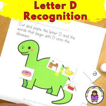 Letter D - Letter of the Week: 15 Beginning Letter Sound Activities