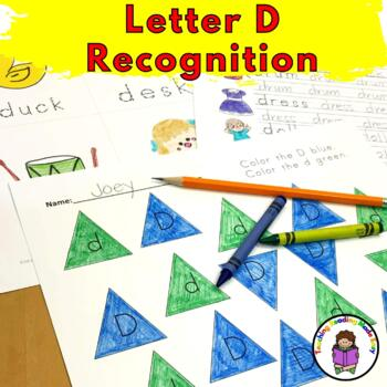 Letter D Worksheets-15 Beginning Sound Letter of the Week D Alphabet Activities