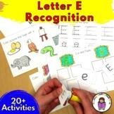 Letter E Worksheets-15 Beginning Sound Letter of the Week E Alphabet Activities