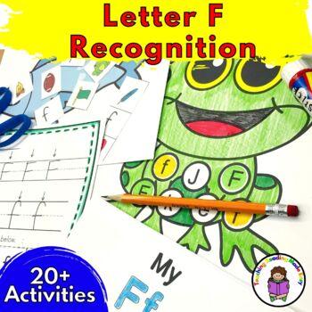 Beginning Letter Sound Worksheets & Activities: Letter F