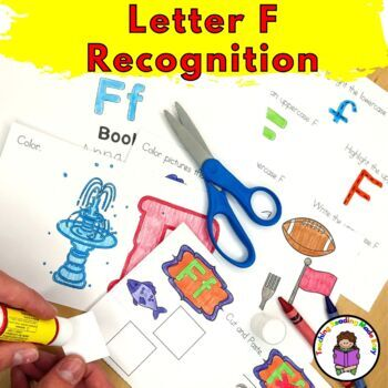 Letter of the Week:  Letter F -Beginning Letter Sound Worksheets & Activities