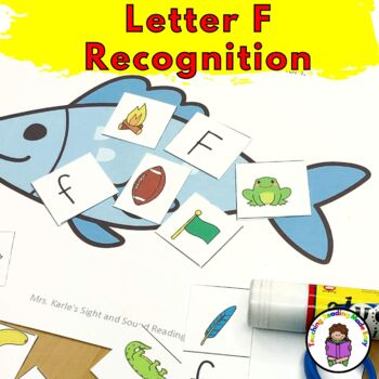 Letter F Worksheets-15 Beginning Sound Letter of the Week F Alphabet Activities