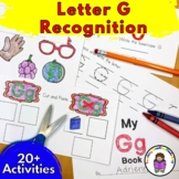 Letter G Worksheets-15 Beginning Sound Letter of the Week G Alphabet Activities