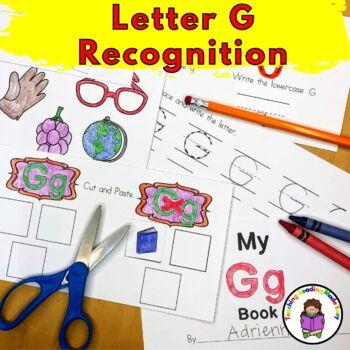 Letter G Worksheets-15 Beginning Sound Letter of the Week G Alphabet Activities