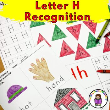 Letter of the Week:  Letter H -Beginning Letter Sound Worksheets & Activities