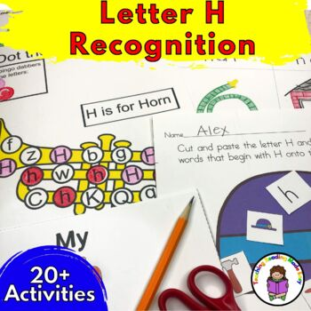 letter h worksheets 15 beginning sound letter of the week h alphabet activities