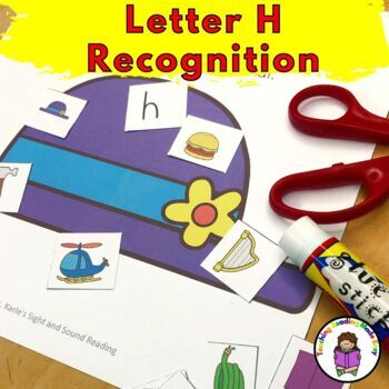 Letter H Worksheets-15 Beginning Sound Letter of the Week H Alphabet Activities