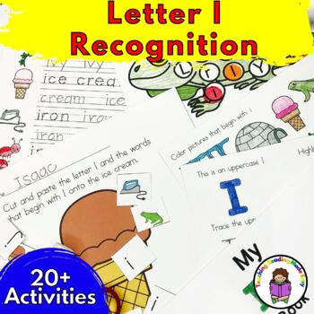 Letter of the Week:  Letter I -Beginning Letter Sound Worksheets & Activities