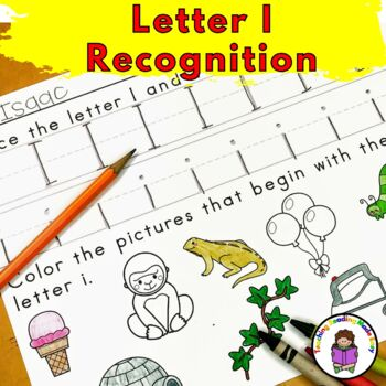 Letter I - Letter of the Week: 15 Beginning Letter Sound Activities
