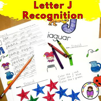 Letter J - Letter of the Week: 15 Beginning Letter Sound Activities