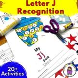 Letter J Worksheets-